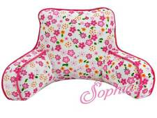 """Floral Print Back Rest Pillow TV FOR 18"""" AMERICAN GIRL DOLL or other dolls"""