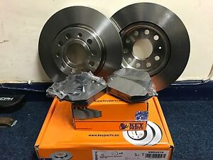 Seat Leon 2005-2013 Front Brake Discs And Pads SET NEW OEM QUALITY