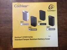cochlear nucleus cp900 series standard tamper resistant battery cover new unopen
