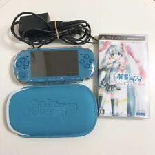 Hatsune Miku Project Diva 2nd Ippai Pack PSP3000 PlayStation Portable Used BOX