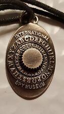 "INTERNATIONAL SPY MUSEUM Washington DC ""SPY"" pendant pewter"