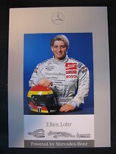 Card Ellen Lohr (GER) Mercedes DTM 1996 (MBC) signed