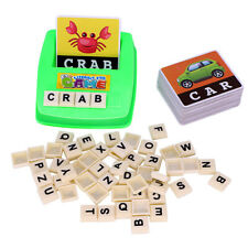 English Spelling Alphabet Letter Game Early Learning Educational Toy Kids US