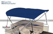 """Summerset 4 Bow Bimini Replacement Top, Canvas Only - 96""""L x 96""""W 