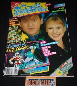 Club Dorothée Magazine N°6 / 1989 / Avec Poster Dragon Ball et 4 Cartes