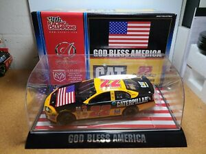 2001 Ward Burton Caterpillar/God Bless America 1:24 NASCAR Racing Champions MIB