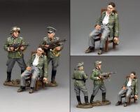 KING & COUNTRY WW2 GERMAN ARMY WS328 THE DEATH OF FEGELEIN MIB