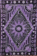 Twin Celestial Tapestry Indian Wall Hanging Boho Throw Blanket Hippie Dorm Decor