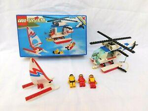 LEGO 6342 Beach Rescue Chopper – 100% Complete Pieces - No Instructions