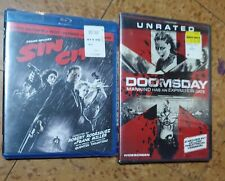 Lot Of 2 New Movies Sin City & Doomsday