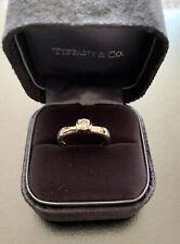 Tiffany & Co Platinum Etoile Diamond Engagement Ring - Recent Full Service