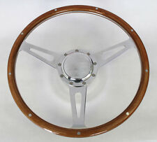 1970's Dodge Dart Charger Demon Cobra Style 9 hole Steering Wheel Wood 15""