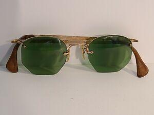 Vintage AO American Optical 1/10 12K GF Gold Filled Eyeglasses Frames