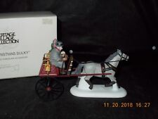 Dept. 56 Heritage Village - Red Christmas Sulky - #58401