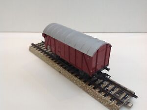 Marklin H0 4506 (306/1) - DB Covered Goods Wagon with wired Tail-Lights.