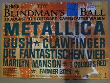BLINDMAN`S BALL - Metallica-Bush-Fanta Vier usw. Stuttgart Can. Wasen - 23.8.97