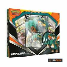 Pokemon Copperajah V Box Collection | New | Inc Booster Packs + TCG Promo Cards