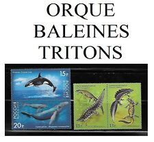 4 Timbres Russes**    ORQUE, BALEINES, TRITONS