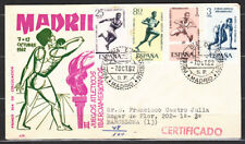 España Spain 1450/53 1962 II Juegos Atléticos Iberoamericanos SPD Sobre Primer D