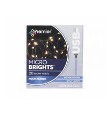 Premier: 20 USB Christmas Lights{Warm White}{2M LIT LENGTH}