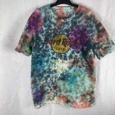 Hard Rock Cafe New York Large Tie Dye SS Tee Shirt.