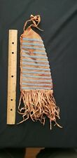 Native American Large Beaded Pouch , from a Major Collection # 15