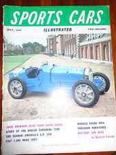 Sports Cars Illustrated UK Jul 1959 Scarab, Fiat 1200, Jack Brabham