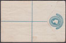 QV Registered Stationery Envelope; Huggins RP2 G, Unused CAT £50; flap sealed