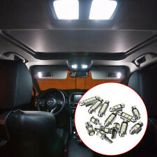14PCS Car Interior White LED Light Lamp Bulbs 39 41 42mm Kit Car Accessories