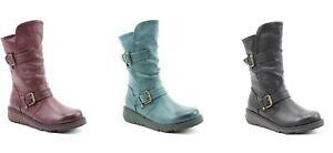 Heavenly Feet Hannah2 Ladies Boot In Black, Ocean or Berry