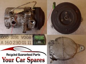 Smart Fortwo Air Conditioning Compressor 98-07