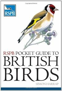 RSPB Pocket Guide to British Birds by Simon Harrap Paperback Book The Cheap Fast