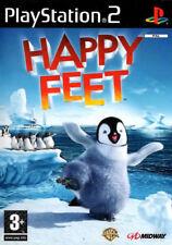 HAPPY FEET PS2 (playstation 2) - Envoi Gratuit-Vendeur Britannique