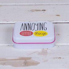 Really Good ~ Deckchair Range ~ Annoying Little Things Mini StorgeTin