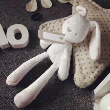 Hot!Baby Sleeping Rabbit Bunny Slumber Doll Soft Plush Stuff Toys Kids Best Gift