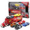 7pcs Disney Pixar Car Toy Set No95 Mack McQueen Truck Racer's Car Gift+Track NO.
