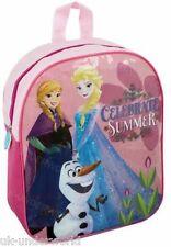 Pink Official Disney Frozen Backpack Anna Elsa Olaf Princess School Bag Rucksack
