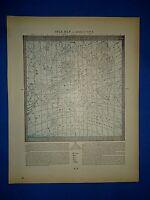 Vintage 1899 Atlas Map ~ STAR MAP #3 ~ Antique & Authentic ~ Free S&H
