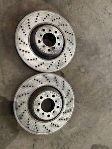 BMW E60 M5 E63 M6 Front Brake Discs Genuine