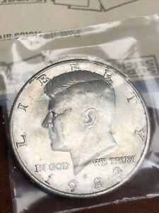 1983-D Kennedy Half Dollar,  Circulated but NICE ! 97