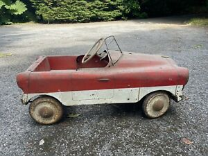 Vintage 1950s Triang Pedal Car