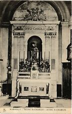 CPA MARSEILLE Eglise St-Charles Autel St-Charles (403218)