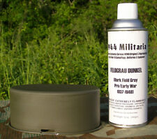 German WWII FELDGRAU DUNKEL (Dark Fieldgray) SPRAY PAINT for Equipment