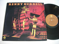 Kenny Burrell Up the Street, 'Round the Corner 1974 Stereo LP VG++