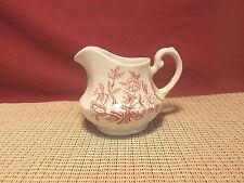 Vintage Swinnertons Royal Wessex China Indian Tree Pink Creamer
