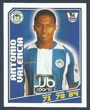 TOPPS TOTAL FOOTBALL-2009- #477-WIGAN ATHLETIC & ECUADOR-ANTONIO VALENCIA