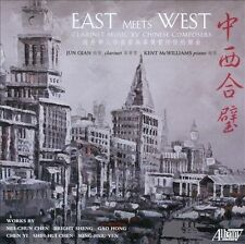 Kent McWilliams : East Meets West: Clarinet Music by Chine CD