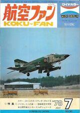 Koku Fan May 1978 RF-4E Phantom A-10 Nellis AFB Messerschmitt Bf 109E-7/B S-3A