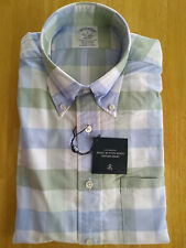 NWOT Brooks Brothers Pastel Check Button Down S Regent 15-32.5 MSRP $140