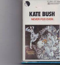 Kate Bush-Never For Ever music Cassette